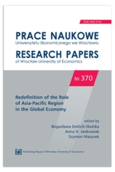 Prospects for the development of economic cooperation between China and African countries. Prace Naukowe Uniwersytetu Ekonomicznego we Wrocławiu = Research Papers of Wrocław University of Economics, 2014, Nr 370, s. 294-304