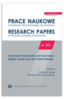 Equity Release Schemes on selected housing loan markets across the world. Prace Naukowe Uniwersytetu Ekonomicznego we Wrocławiu = Research Papers of Wrocław University of Economics, 2015, Nr 381, s. 72-85