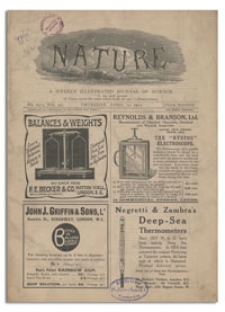 Nature : a Weekly illustrated Journal of Science. Volume 95, 1915 April 22, [No. 2373]