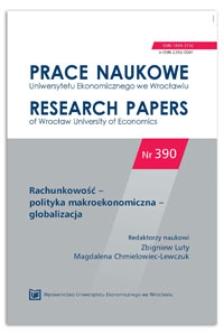 Rachunkowość w Państwowym Gospodarstwie Leśnym Lasy Państwowe. Prace Naukowe Uniwersytetu Ekonomicznego we Wrocławiu = Research Papers of Wrocław University of Economics, 2015, Nr 390, s. 222-233