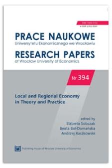 Clusters and smart specializations. Prace Naukowe Uniwersytetu Ekonomicznego we Wrocławiu = Research Papers of Wrocław University of Economics, 2015, Nr 394, s. 100-108