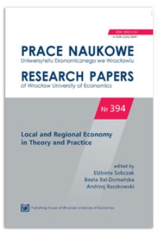 The strategy of local development as a component of creative human capital development process. Prace Naukowe Uniwersytetu Ekonomicznego we Wrocławiu = Research Papers of Wrocław University of Economics, 2015, Nr 394, s. 135-143