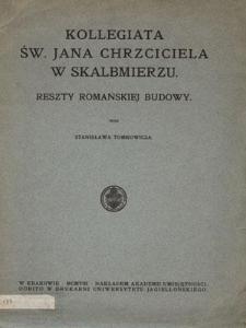 Kollegiata Św. Jana Chrzciciela w Skalbmierzu. Reszty romańskiej budowy