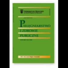 Pielęgniarstwo i Zdrowie Publiczne = Nursing and Public Health, 2013, Vol. 3, nr 4