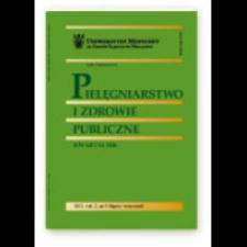 Pielęgniarstwo i Zdrowie Publiczne = Nursing and Public Health, 2014, Vol. 4, nr 1