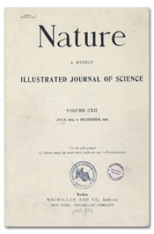 Nature : a Weekly Illustrated Journal of Science. Volume 112, 1923 October 27, [No. 2817]