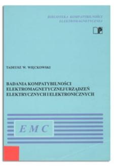Badania kompatybilności elektromagnetycznej urządzeń elektrycznych i elektronicznych