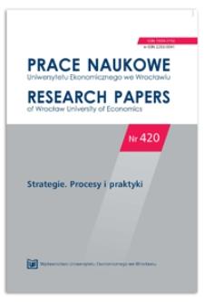 Nowoczesny model zarządzania strategicznego – koncepcja badawcza