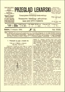 Przyczynek do nauki o leczeniu ran, Przegląd Lekarski, 1884, R. 23, nr 31, s. 421-422