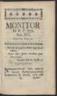 Monitor. R.1772 Nr 16