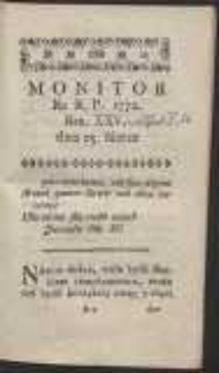 Monitor. R.1772 Nr 25