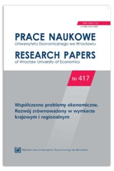 Procesy polaryzacji w polskiej przestrzeni gospodarczej