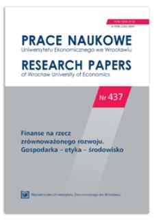 Europejski model sprawozdawczości statystycznej w zakresie wydatków na ochronę środowiska i jego zastosowanie w Polsce