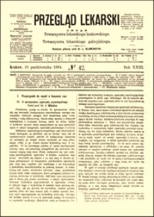 Przyczynek do nauki o leczeniu ran : o uproszczeniu opatrunku przeciwgnilnego, Przegląd Lekarski, 1884, R. 23, nr 42, s. 553-555