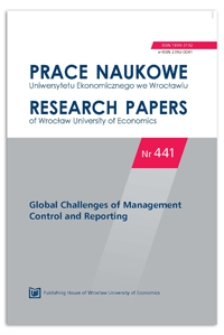 The process of cost assignment in a local railway company providing passenger transportation services. A case study. Prace Naukowe Uniwersytetu Ekonomicznego we Wrocławiu = Research Papers of Wrocław University of Economics, 2016, Nr 441, s. 86-98
