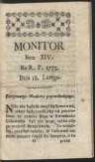 Monitor. R.1775 Nr 14