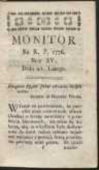 Monitor. R.1776 Nr 15