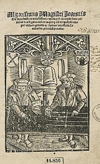 Algorithmus Ioannis De Sacro Busto