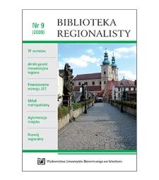 Spójność terytorialna w perspektywie Zielonej księgi szansą dla gospodarki krajów Unii Europejskiej