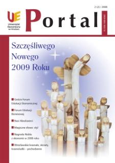 Portal: kwartalnik Uniwersytetu Ekonomicznego we Wrocławiu, 2008, Nr 2 (2)