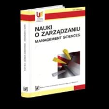 Spis treści [Nauki o Zarządzaniu = Management Sciences, 2016, Nr 3 (28)]