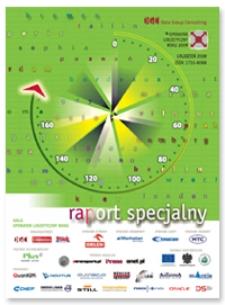 Operator logistyczny roku 2009 : raport specjalny