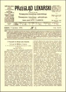 O wykluczeniu ognisk martwych z jamy brzusznej : przyczynki do chirurgii jamy brzusznej, Przegląd Lekarski, 1886, R. 25, nr 2, s. 17-19
