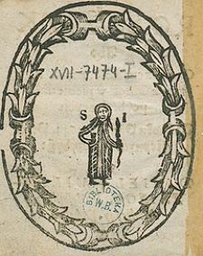 Rozsądek abo obwieszczenie różnych skutków z obrotów niebieskich pochodzących w roku 1644 Przez Daniela Milewskiego [...]