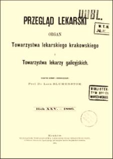 O wykluczeniu ognisk martwych z jamy brzusznej : przyczynki do chirurgii jamy brzusznej, Przegląd Lekarski, 1886, R. 25, nr 5, s. 63-65