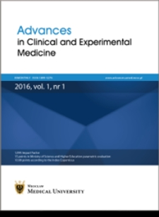 Advances in Clinical and Experimental Medicine, Vol. 26, 2017, nr 1
