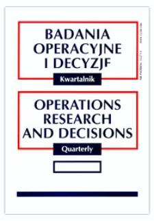 Ocena jakości procesu logistycznego przedsiębiorstwa przemysłowego metodą uogólnionego parametru. Część II