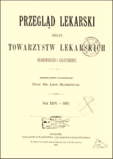 Opatrunek trwały i leczenie ran pod wilgotnym strupem krwi, Przegląd Lekarski, 1887, R. 26, nr 2, s. 29-31