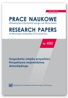 Idea miasta odpowiadającego jako wyznacznik programowania rozwoju społeczno-gospodarczego na przykładzie Wrocławia