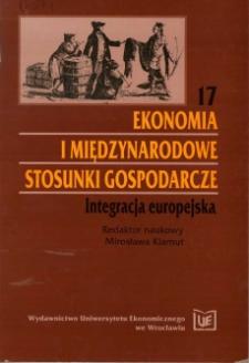 Prace Naukowe Uniwersytetu Ekonomicznego we Wrocławiu, 2008, Nr 10