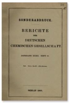 d-Erythrose, Berichte der Deutschen Chemischen Gesellschaft, 1900, Jahrgang XXXII, Heft 18, s. 3672-3681
