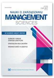 Spis treści [Nauki o Zarządzaniu = Management Sciences, 2017, Nr 2 (31)]