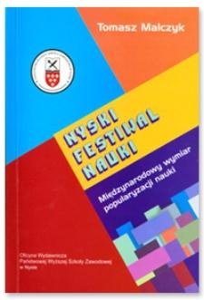Nyski Festiwal Nauki : międzynarodowy wymiar popularyzacji nauki