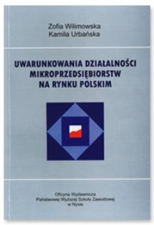 Uwarunkowania działalności mikroprzedsiębiorstw na polskim rynku