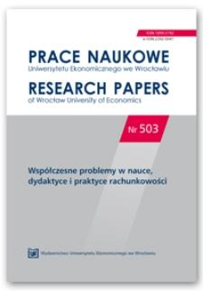 Prezentacja inwestycji udziałowych w jednostkach stowarzyszonych i wspólnych przedsięwzięciach z zastosowaniem metody praw własności według polskich i międzynarodowych standardów rachunkowości