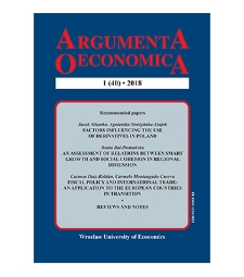 An assessment of relations between smart growth and social cohesion in regional dimension