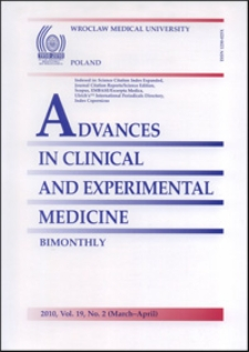 Advances in Clinical and Experimental Medicine, Vol. 19, 2010, nr 2