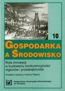 Prace Naukowe Uniwersytetu Ekonomicznego we Wrocławiu, 2008, Nr 29
