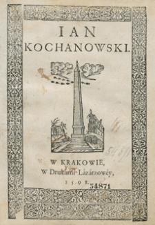 Ian Kochanowski [Red. D]