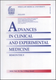 Advances in Clinical and Experimental Medicine, Vol. 19, 2010, nr 3