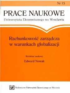 Prace Naukowe Uniwersytetu Ekonomicznego we Wrocławiu, 2008, Nr 15