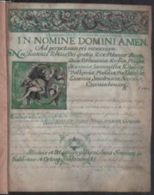 Locatio civitatis Maryampolensis 1693-1703