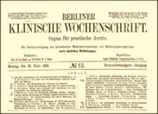Ueber die Behandlung brandiger Brüche, Berliner Klinische Wochenschrift, 1892, Jg. 29, No. 13, S. 305-308