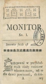 Monitor Warszawski. R.1765 Nr 58