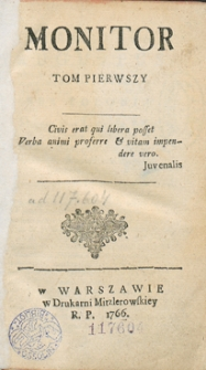 Monitor. R.1766 Nr 15