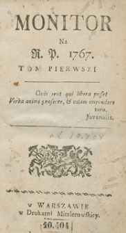 Monitor. R.1767 Nr 10